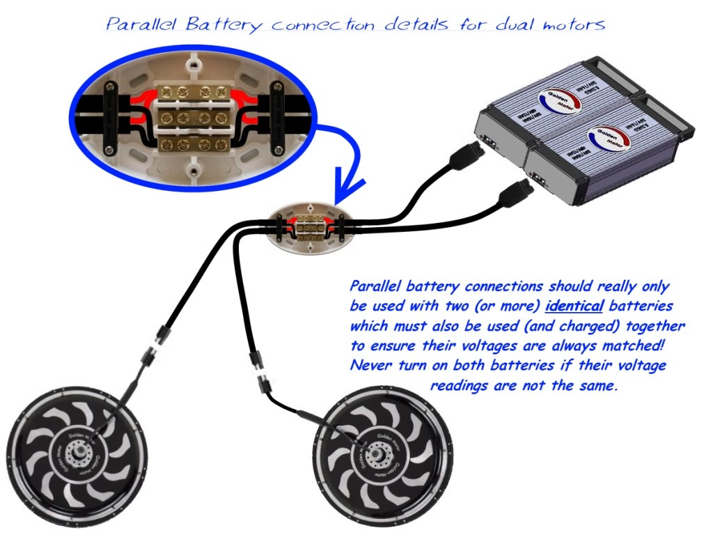 Two Batteries How Do I Wire Them Pleeeease Helpppp Difference Between Wiring In Series And Parallel